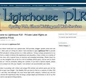 thumbs lighthouse plr Skewed Design Studios