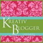 I Finally Got Tagged With The Kreativ Blogger Award! Oh, Y'All Are In For It Now.