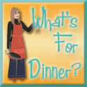 Whats For Dinner Button Skewed Design Studios