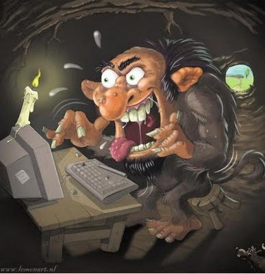 troll Blog Trolls: Do They Really Think Theyre Anonymous?