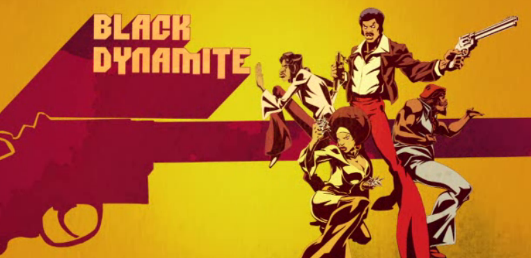 blackDynamiteCartoon1 Black Dynamite Discovers Michael Jackson Was An Abusive Alien Hybrid