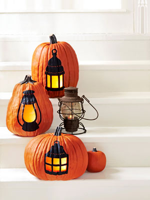 pumpkinideas pumpklanterns mdn Cool Halloween Pumpkins