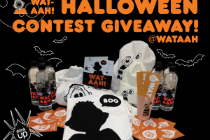 WAT-AHH! Boo Bottle Halloween Prize Pack Giveaway