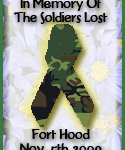 In Honor Of Those Lost Today At Ft. Hood