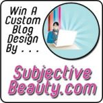 Another SubjectiveBeauty.com Blog Design Giveaway